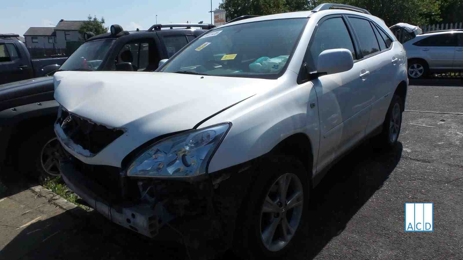 Lexus RX400 H SE 3.3L Petrol Hybrid Variable Speed Automatic 2007 #2541