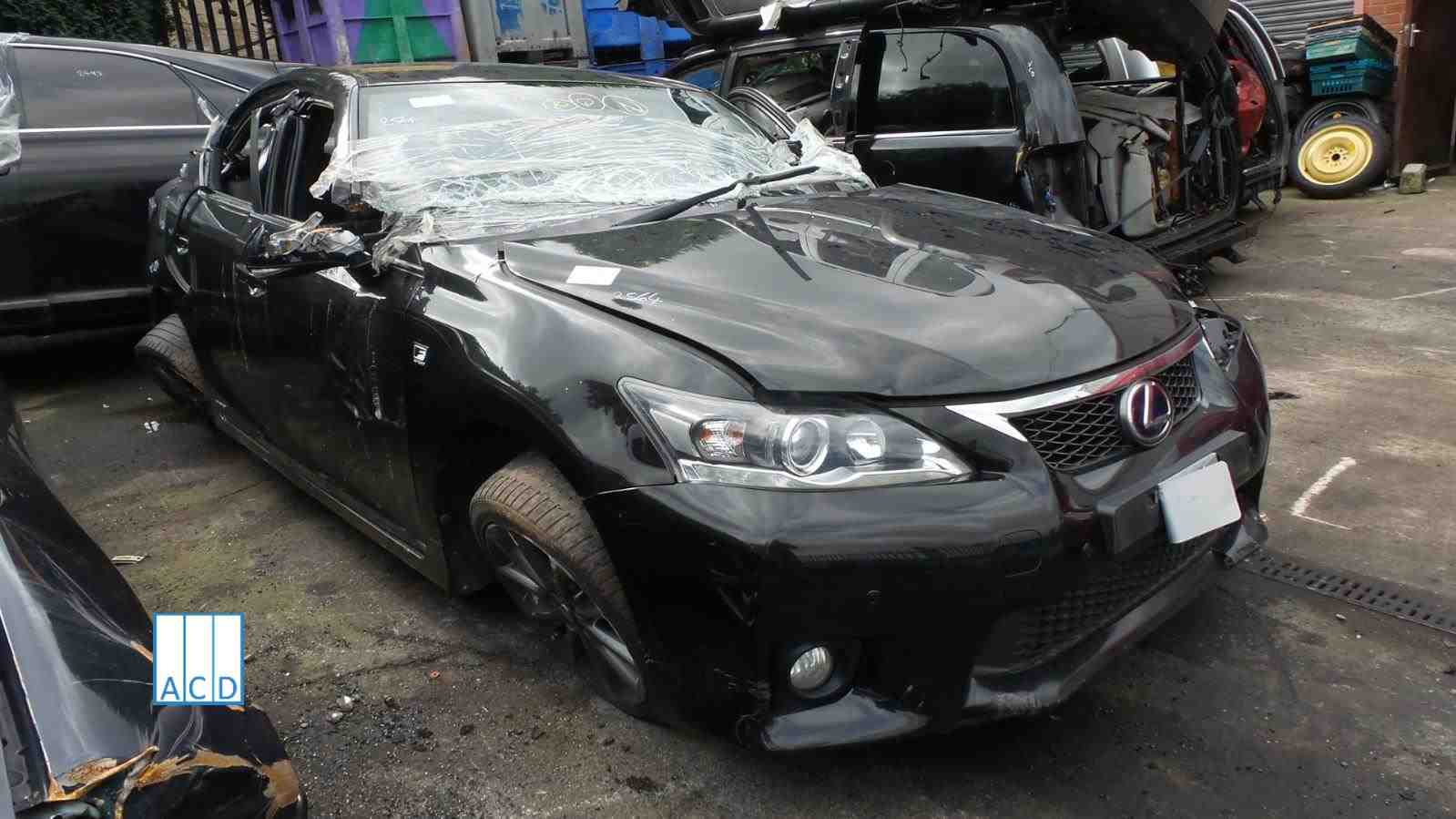 Lexus CT200H F 1.8L Hybrid ELE 1 Speed Automatic 2012