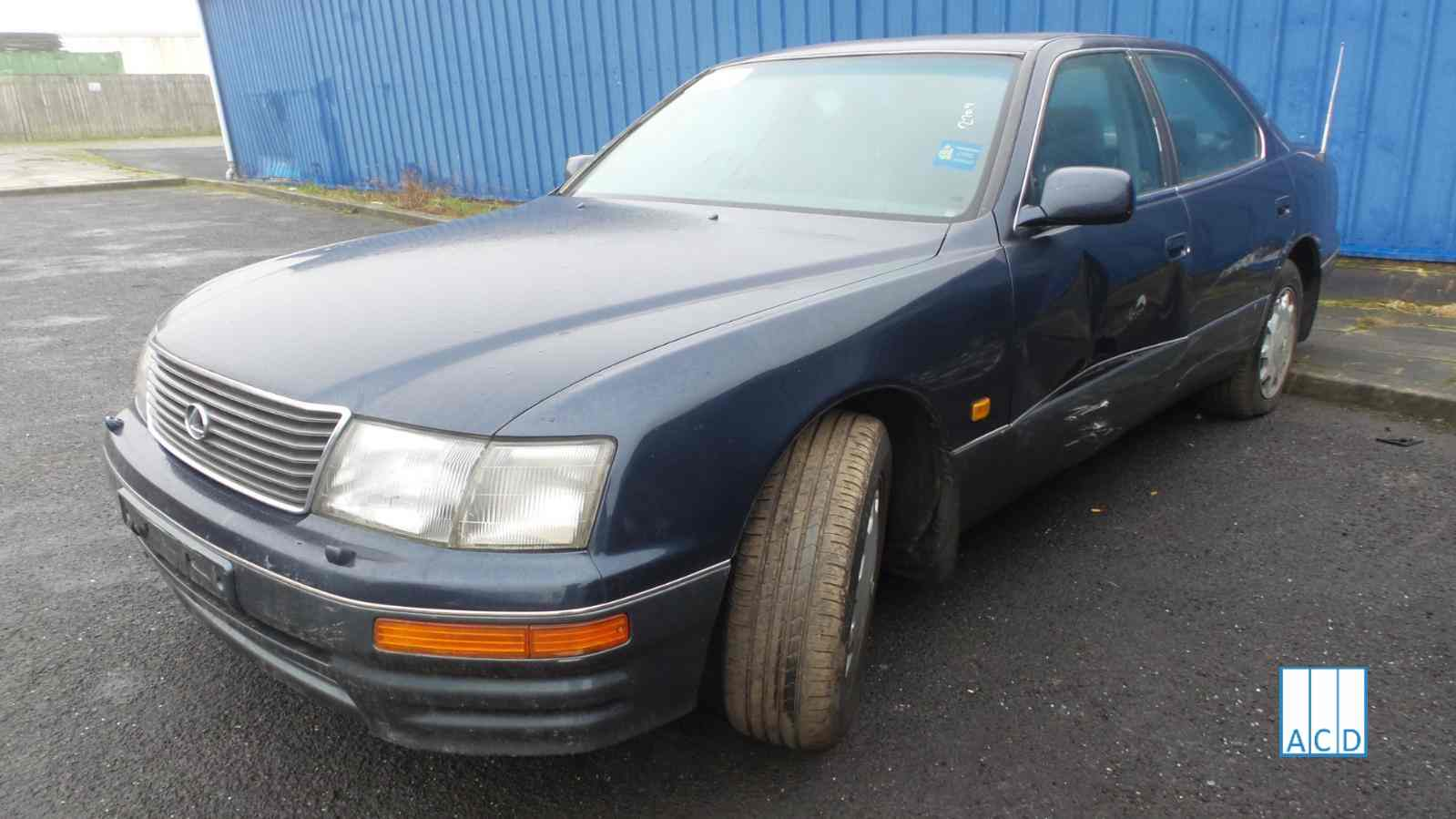 Lexus LS400 4.0L Petrol 4-speed automatic 1996 #2709 01