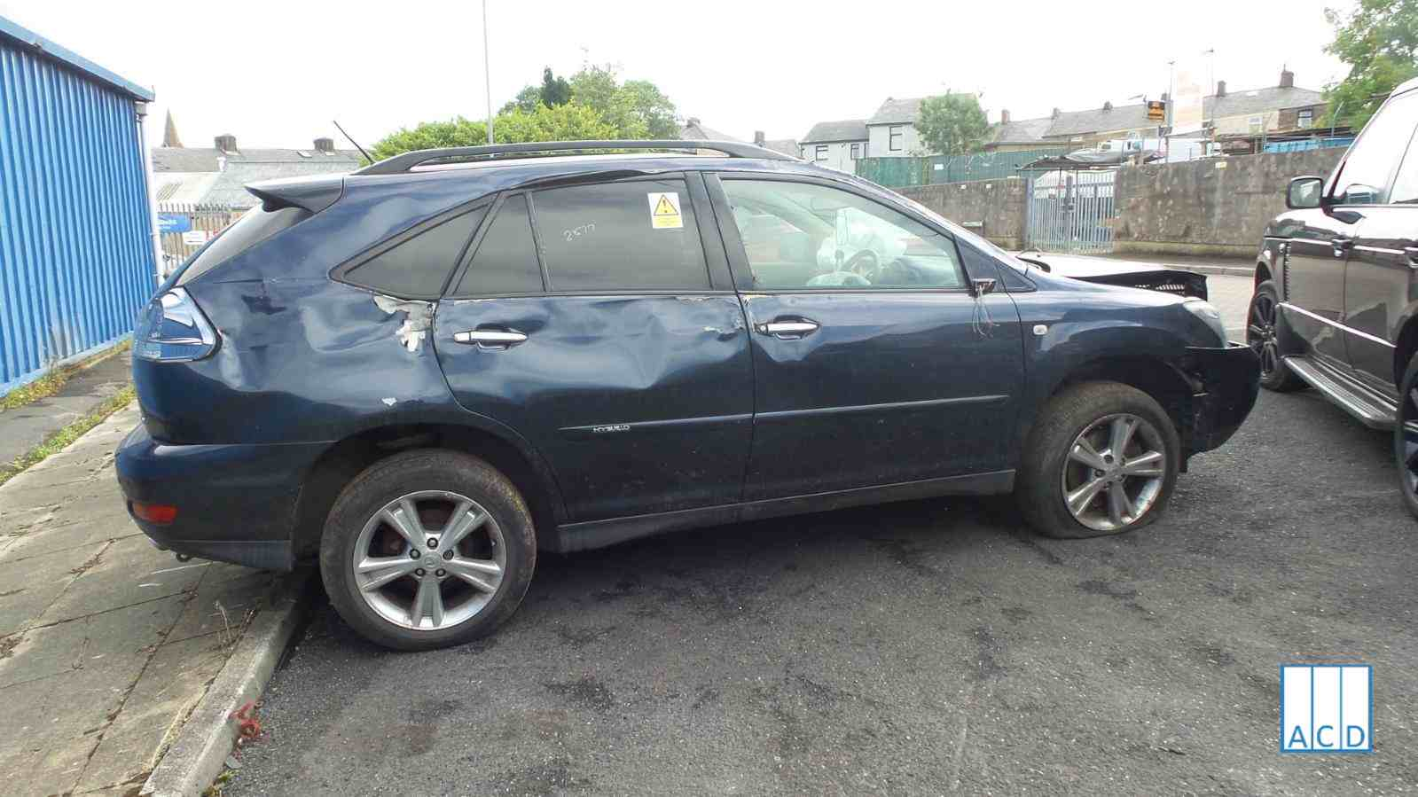 Lexus RX400 H SE 3.3L Hybrid 1-Speed Automatic 2007 #2877 01
